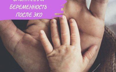 Спонтанная беременность после ЭКО