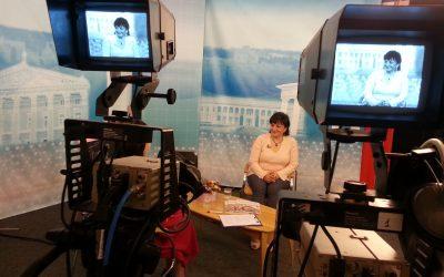 Интервью для Винницкого телевидения ТРК»ВІНТЕРА» Екватор дня.