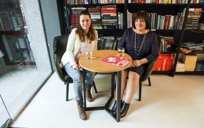 Интервью с Юлией Шило для Promum и прямой эфир
