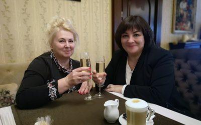 Ноябрь-декабрь 2019   Встреча с коллегами в Украине и России