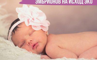Влияние витрификации эмбрионов на исход ЭКО