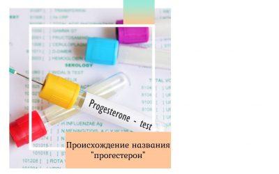 Происхождение названия «прогестерон»