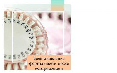 Восстановление фертильности после контрацепции