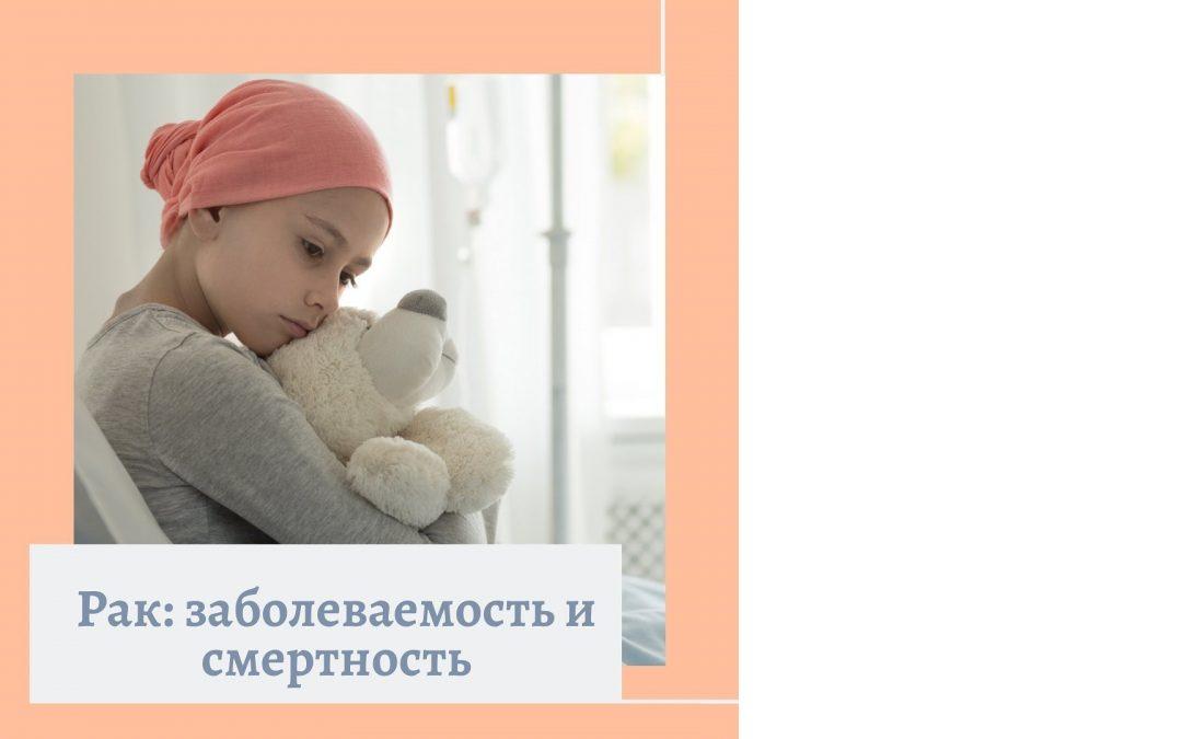 Рак: заболеваемость и смертность